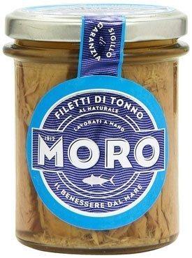 Tonno-in-scatola----Moro-Filetto-Di-Tonno-Naturale---6-pezzi-da-190-g