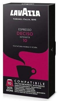 Capsule Caffè - Lavazza Capsule Compatibili Nespresso Espresso Deciso 100 capsule