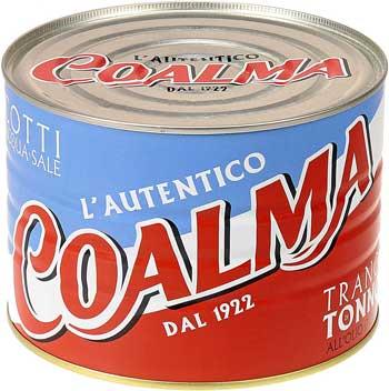 Tonno in scatola - Coalma Trancio di Tonno in Olio d'Oliva