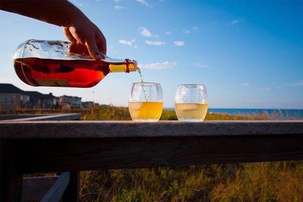 Migliore Rum - servito sulla spiaggia