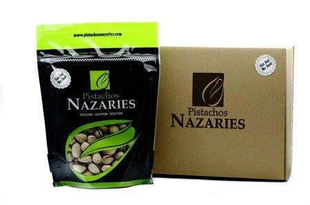 Pistacchi migliori - Pistacchi Nazaries - Pistacchi spagnoli di alta qualità, accuratamente selezionati e arrosto senza sale. Molto croccante