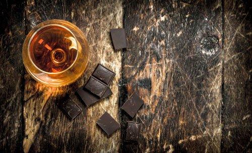 Abbinamento Grappa Cioccolato fondente
