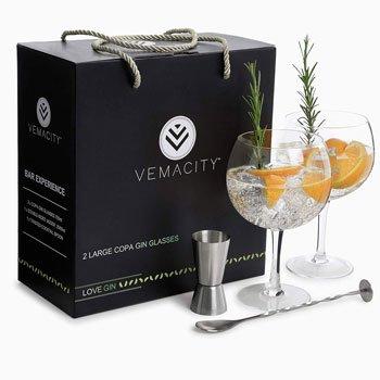 Miglior Gin - Bicchieri da Gin - Vemacity