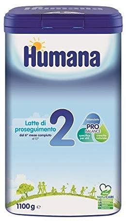 Latte artificiale migliore - Humana 2 NaturCare Latte Di Proseguimento 1100g