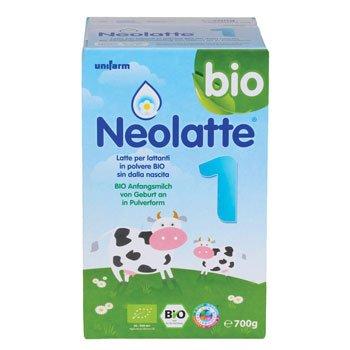Latte artificiale migliore - Neolatte 1 - 700 gr - Latte per Lattanti in Polvere Bio