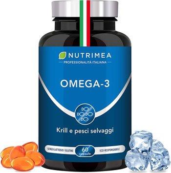 Omega 3 Migliore - Omega 3 Krill Olio di Pesce