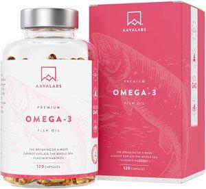 Omega 3 migliore - Aava Labs - Omega 3 Olio di Pesce