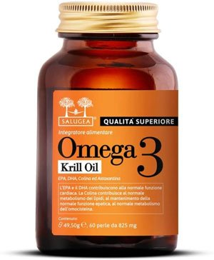 Omega 3 migliore - OMEGA 3 0072 KRILL OIL Salugea