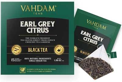 Tè nero - Agrume Earl Grey(30 bustine di tè)