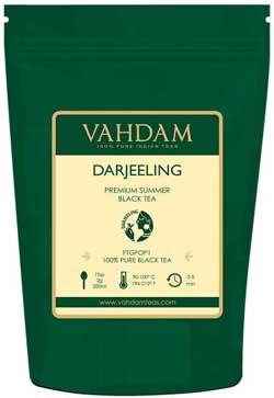 Tè nero - VAHDAM, foglie di tè nere Darjeeling dall'Himalaya