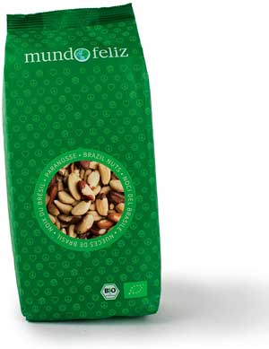 Noci migliori - Mundo Feliz, noci brasiliane biologiche, 2 x 500 g