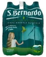 Migliore acqua - ACQUA S.Bernardo Naturale