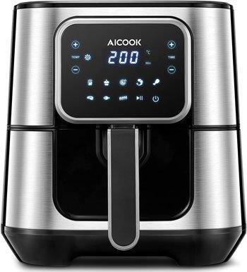 Miglior friggitrice ad aria - Aicook 5,5L Friggitrice ad Aria