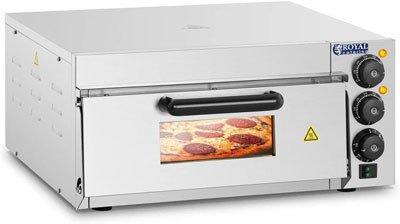 Forno pizza elettrico migliore - Royal Catering Forno Elettrico per Pizza Professionale RCPO-2000-1PE 1