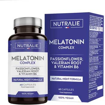 Melatonina migliore - Naturalie Melatonina Pura 1,8mg con Valeriana e Tiglio
