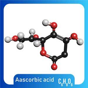 Acido-Ascorbico Vitamina C molecola