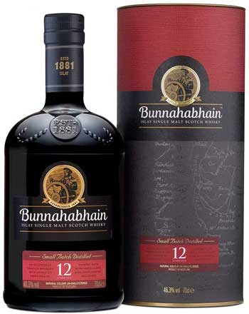 Miglior Whisky - Bunna hab Hain 12 anni di Islay Single Malt Scotch Whisky, 700 ml