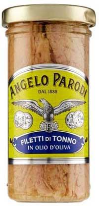 Miglior tonno in scatola - ANGELO PARODI FILETTI TONNO OLIO DI OLIVA 150GR