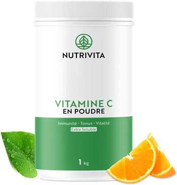 Migliore Vitamina C - Nutrivita Polvere 1 kg Acido Ascorbico Puro