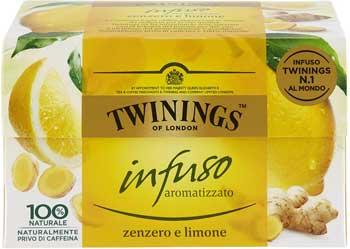 Zenzero migliore - Twinings Infusi Zenzero e Limone