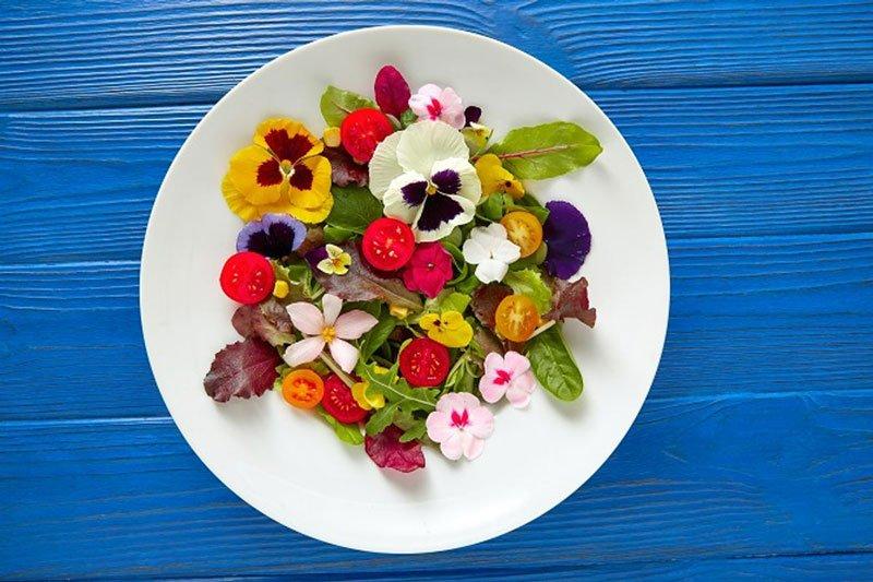 Fiori commestibili per i tuoi piatti preferiti